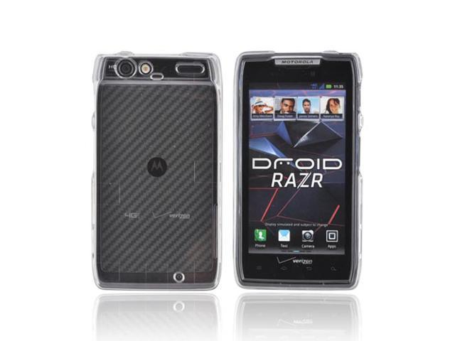 Slim & Protective Hard Case for Motorola Droid RAZR - Clear