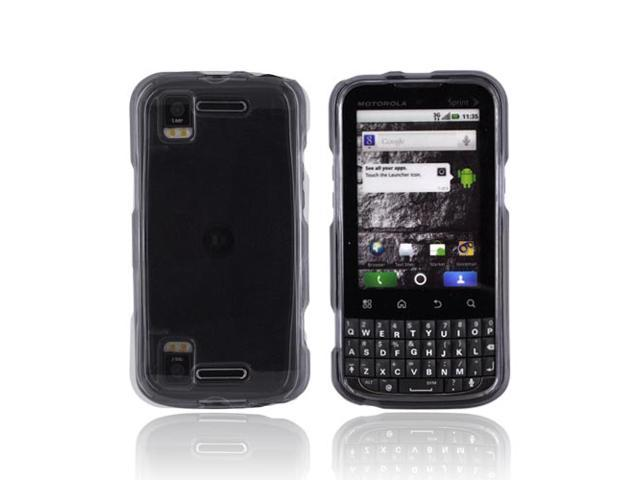 Slim & Protective Hard Case for Motorola XPRT MB612 - Transparent Smoke
