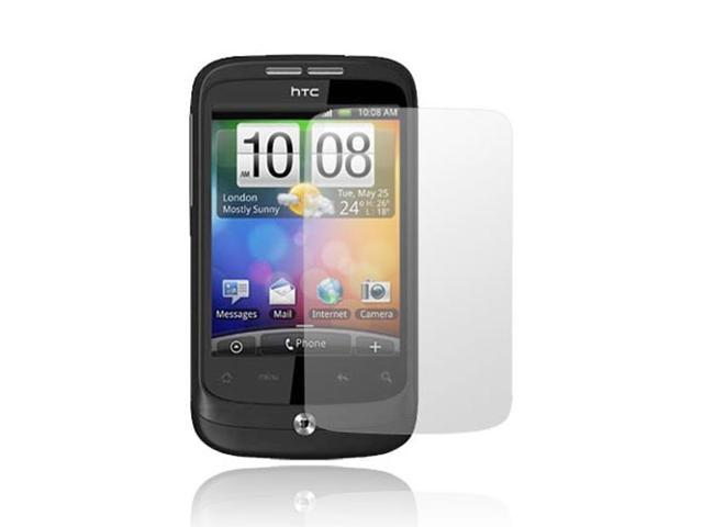 NEW CLEAR LCD SCREEN PROTECTOR FILM 4 HTC WILDFIRE 6225
