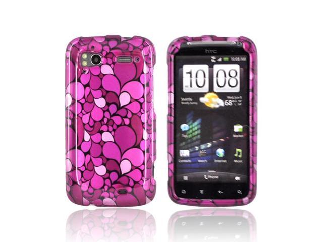 Slim & Protective Hard Case for HTC Sensation 4G - Pink Magenta Petals
