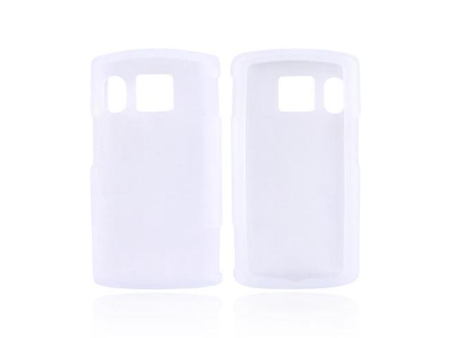 Frost White Rubber Feel Silicone Skin Case Cover For Kyocera Zio M6000