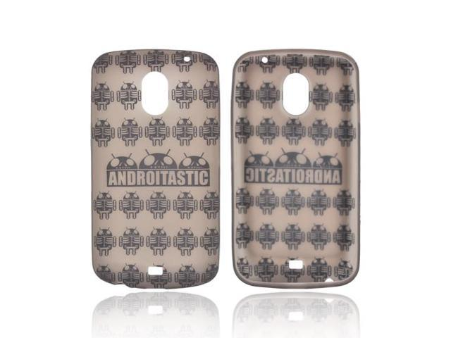 Samsung Galaxy Nexus Androitastic Rubbery Feel Silicone Skin Case Cover - Smoke Androitastic Los Muertos