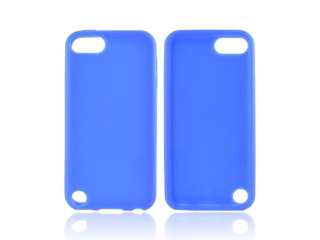 Blue Apple Ipod Touch 5 Rubbery Soft Silicone Skin Case