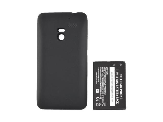 Black Extended Long Life Battery 2600 Mah W Door For LG Revolution, LG Esteem