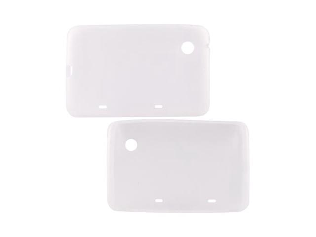 Frost White Rubber Feel Silicone Skin Case Cover For HTC Flyer