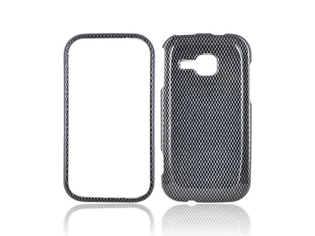 Slim & Protective Hard Case for Samsung Galaxy Indulge R910 - Carbon Fiber Design