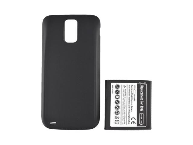 T-mobile Samsung Galaxy S2 Extended Long Life Battery W/ Door - Black (3000 Mah)