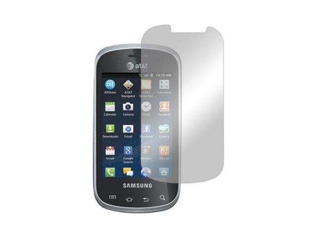 Samsung Galaxy Appeal Lcd Screen Protector Cover Kit Film W/ Mirror Effect