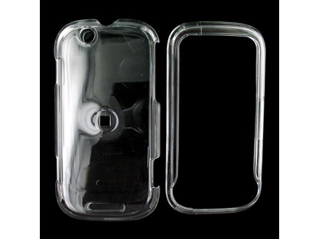 Motorola CLIQ Hard Plastic Case - Transparent Clear