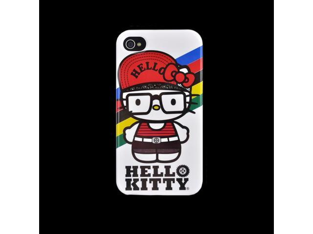 Oem Hello Kitty Apple Iphone 4/4s Hard Back Cover Case, Sancc0075 - 90's Hello Kitty On Gray