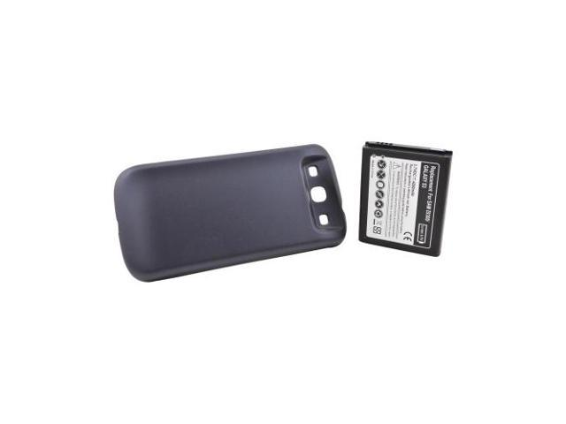Samsung Galaxy S3 Extended Long Life Battery W/ Door (4200 Mah) - Navy Blue