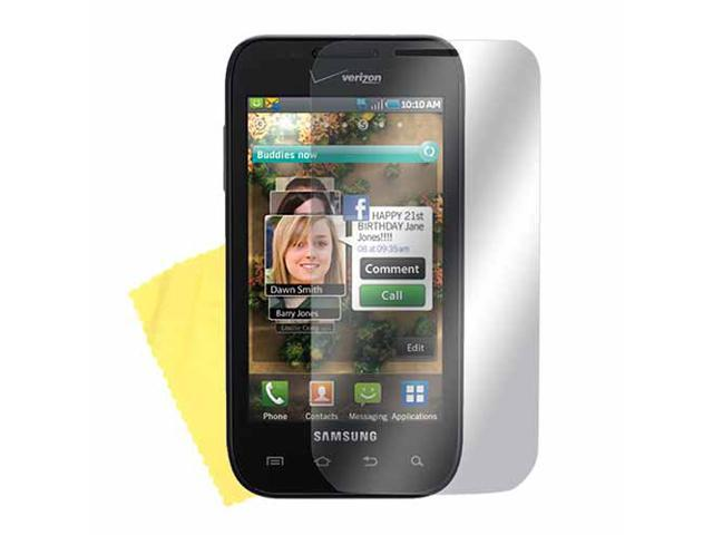Samsung Fascinate Lcd Screen Protector Cover Kit Film W/ Mirror Effect