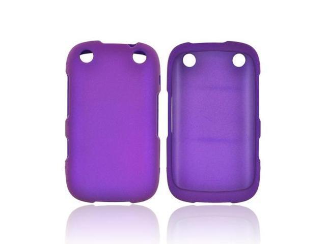 Blackberry Curve 9310/9320 Rubberized Hard Plastic Case Snap On Cover - Purple