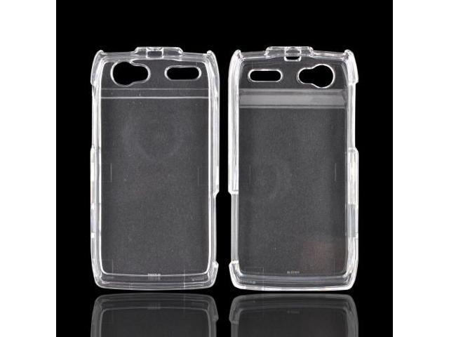 Slim & Protective Hard Case for Motorola XT881 - Clear