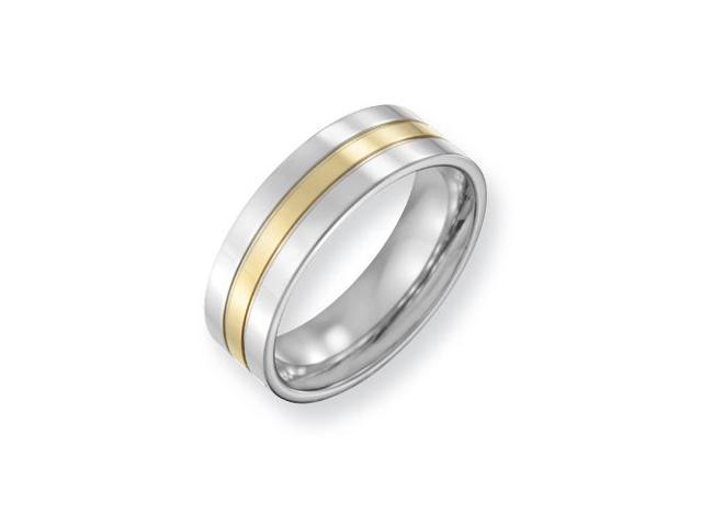 Gold Plated Wedding Band (7.00 mm)