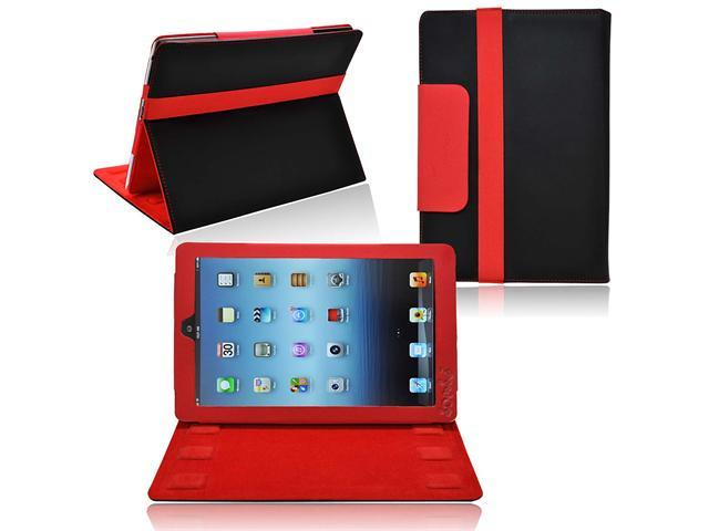 Ionic 2-Tone Designer Leather Case Cover with stand for New Apple iPad Mini 7.9 inch / the iPad Mini 7 Inch / built-in Stand ...