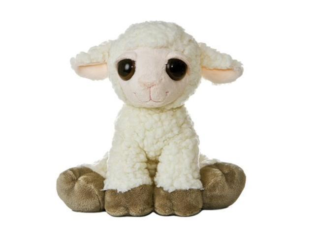 Aurora Plush Dreamy Eyes Lamb