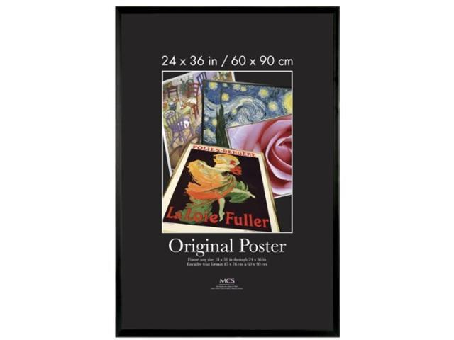 mcs original poster frame in black 24 x 36 inches