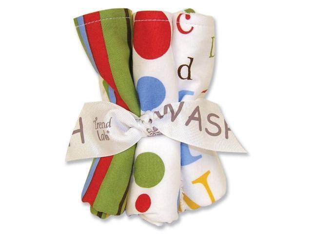 Trend-Lab Dr Seuss ABC Wash Cloth Bouquet - 5 Piece