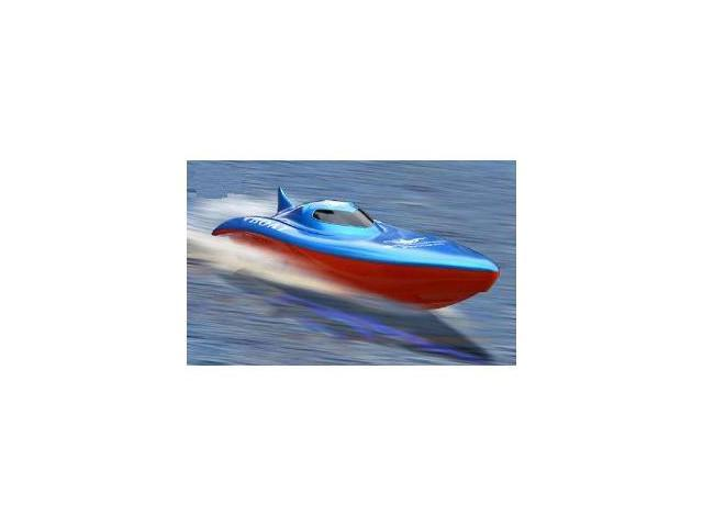 "RC SYMA Racing Boat 22"" R/C Electric High Powered Blazingly Super Fast Balaenoptera Musculus Cruise"