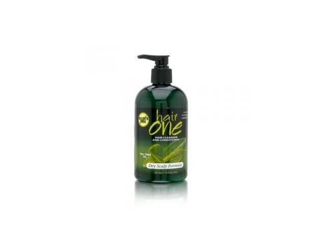 Hair One Hair Cleanser and Conditioner with Tea Tree Oil 355ml/12oz - Dry Scalp Formula