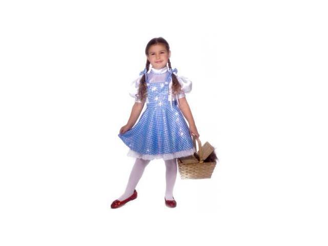 Girls Deluxe Dorothy Costume - Child Small