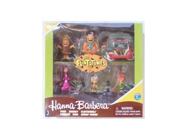 Hanna-Barbera The Flintstones 6 Pack Figures