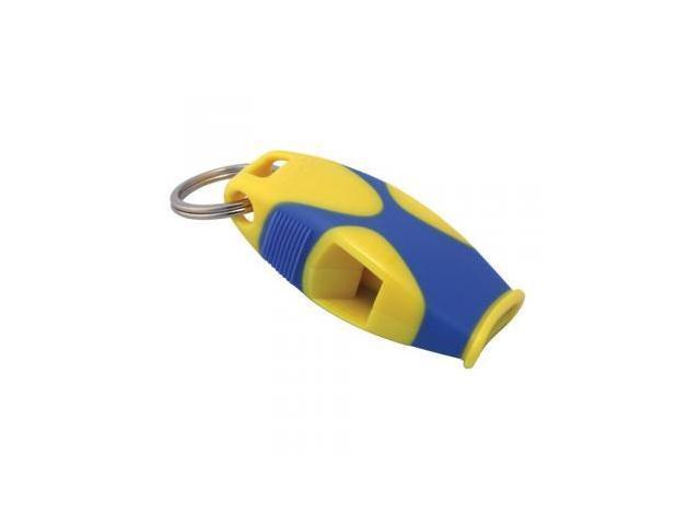 Fox 40 Sharx Whistle with Lanyard, Yellow/Blue