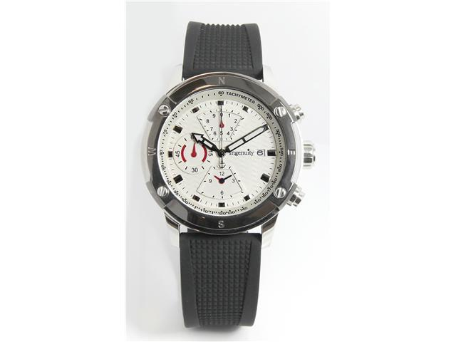 Ingenuity Chronograph Gents Watch , A  Modern Stainless Timepiece Gives You Sport & Causal Appeal , Polished Stainless Steel ...