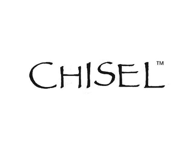 Genuine Chisel (TM) Band. Cobalt Chromium 14k Gold Inlay Satin Polish 6mm Band ( Size 9)