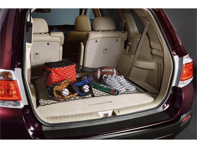 Toyota Genuine Parts 2012 Toyota Highlander Spider Cargo Net