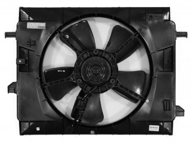 APDI Dual Radiator and Condenser Fan Assembly 6016144