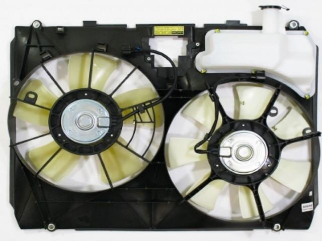 APDI Dual Radiator and Condenser Fan Assembly 6034145