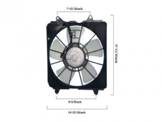 APDI Engine Cooling Fan Assembly 6019144
