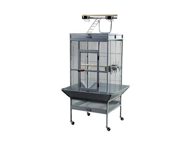 Prevue Hendryx Wrought Iron Select Cage Pewter - 3152W