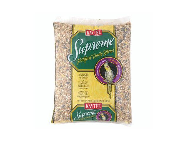 Kaytee Products Inc Supreme, Cockatiel, 5 Pound - 100034057
