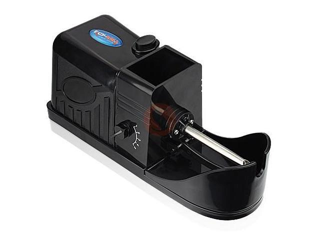 Electric Cigarette & Tobacco Rolling Machine Black - Five Adjustable Density