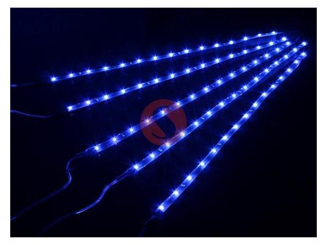 Blue 5*15 LED SMD Waterproof Car Strip Light Flexible