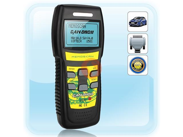 U581 OBD OBD2 CAN BUS Code Reader  Scanner Compliant  CAN Enabled Vehicles