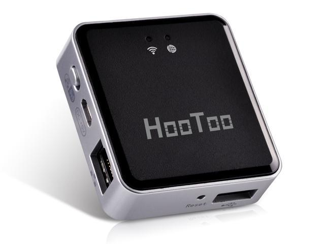 HooToo HT-TM02 TripMate Nano Wireless N150 Portable Travel Router - USB Storage Media Sharing, Access Point, Wi-Fi Router ...