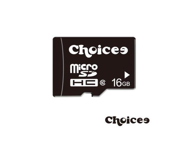 Choicee 16GB microSDHC Class 10 Flash Memory Card