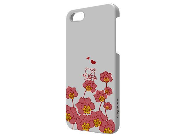 Choicee X Olibear for Apple iPhone 5 Cover Case with Screen Protector Love in Bloom (retail)