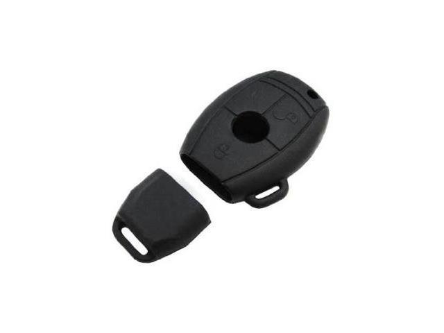iJDMTOY Soft Silicone Remote Smart Key Holder Fob For Mercedes-Benz C E S CLK SLK CLS ML Class