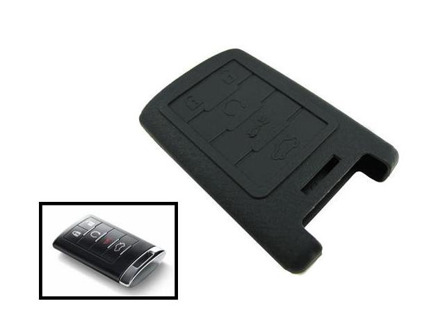 iJDMTOY Soft Silicone Remote Smart Key Holder Fob For Cadillac Escalade CTS SRX, etc