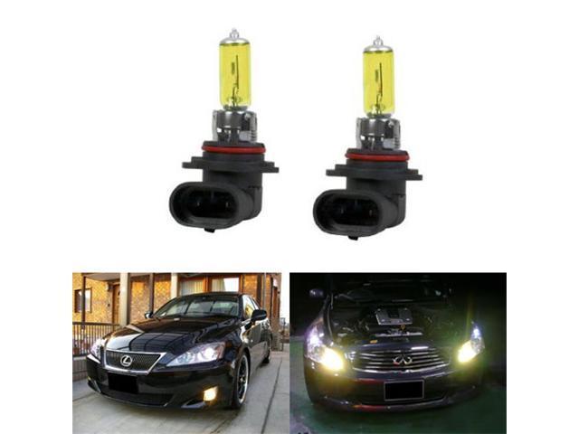 iJDMTOY 3000K Super Yellow 9006 HB4 Halogen Fog Light Bulbs