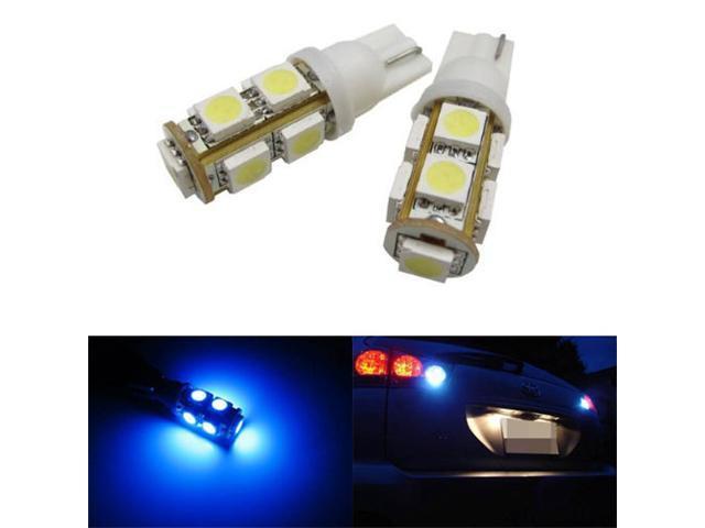 JDMTOY 9-SMD-5050 912 921 906 LED Bulbs For Back Up Reverse Lights, Ultra Blue