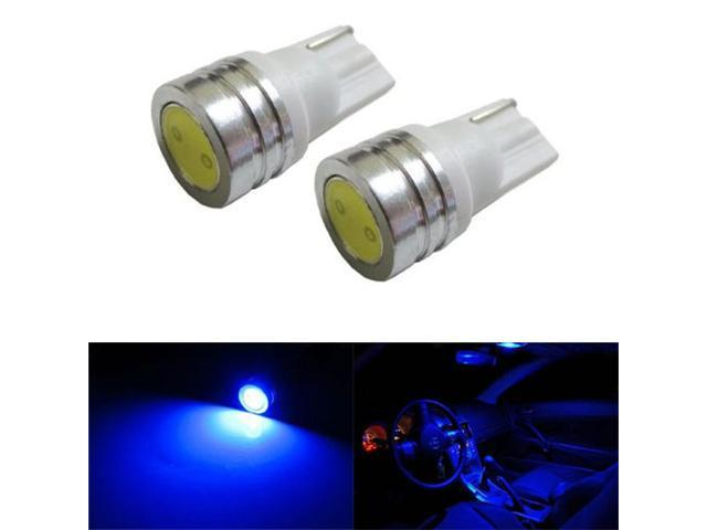 iJDMTOY 1W High Power 168 194 2825 T10 LED Interior Map Dome Light Bulbs, Ultra Blue
