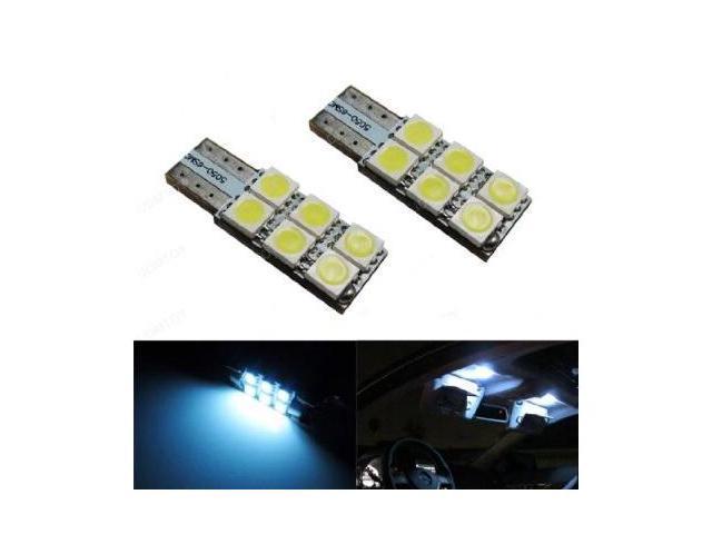 iJDMTOY 6-SMD 2825 W5W Sun Visor Vanity Mirror LED Lights, Xenon White