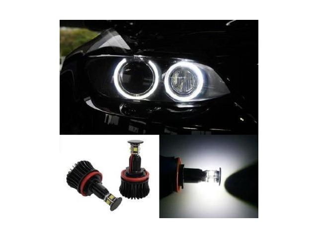360-Degree 20W CREE High Power H8 LED BMW Angel Eyes Kit for BMW 1 3 5 Series Z4 X5 X6