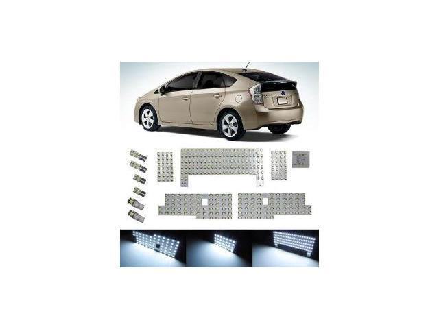 iJDMTOY 326-SMD 12-Piece Vehicle Specific Exact Fit Full LED Interior Light Package For 2010 2011 2012 2013 Toyota Prius or Prius V, Xenon White